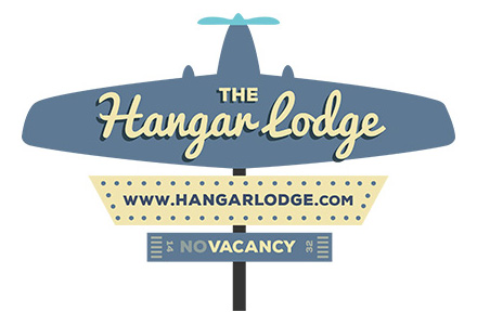 The Hangar Lodge Logo